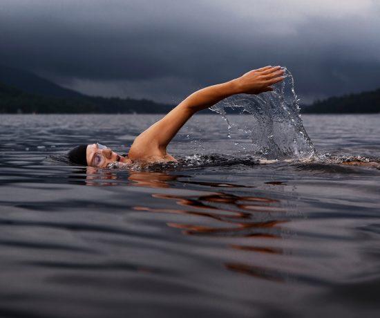 Nageuse - maman qui fait du triathlon en famille