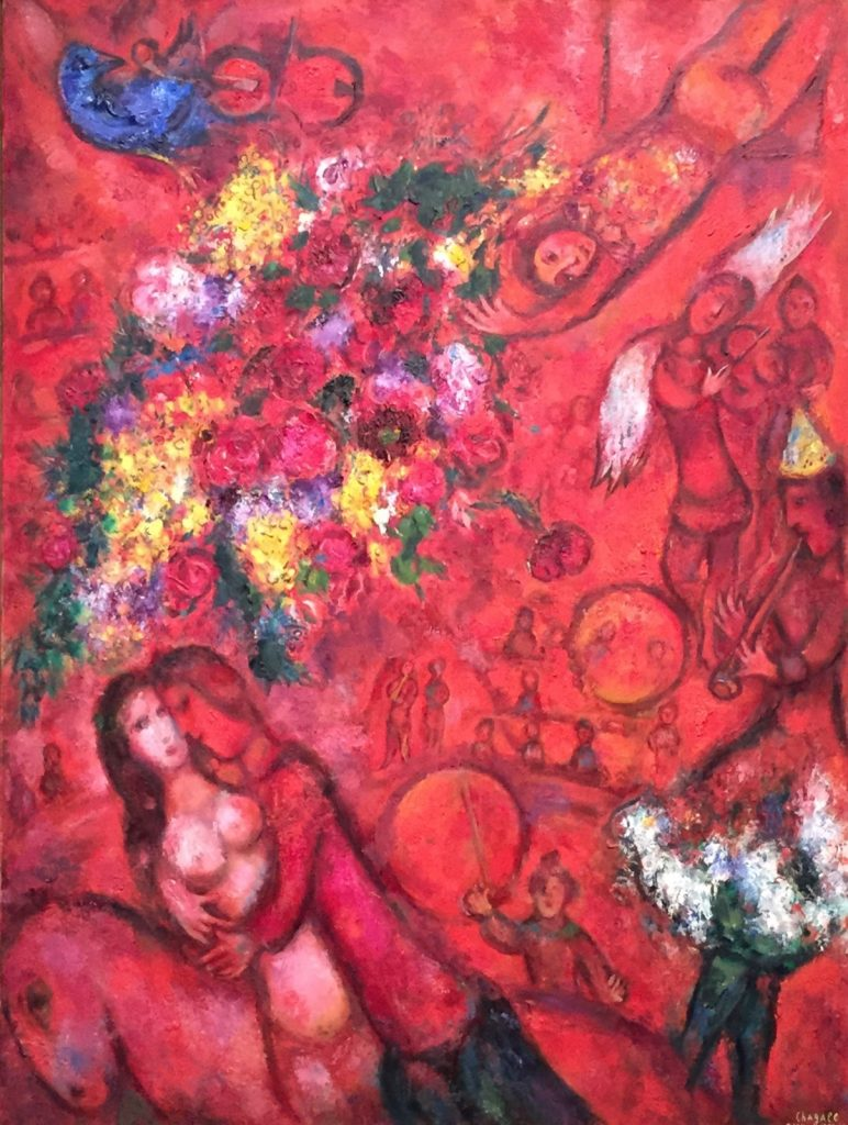 Peinture - Chagall