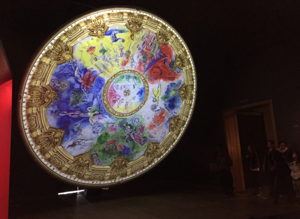 Plafond opéra de Paris - Chagall