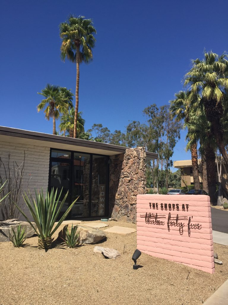 The Shops at thirteen Forty Five - Palm Springs