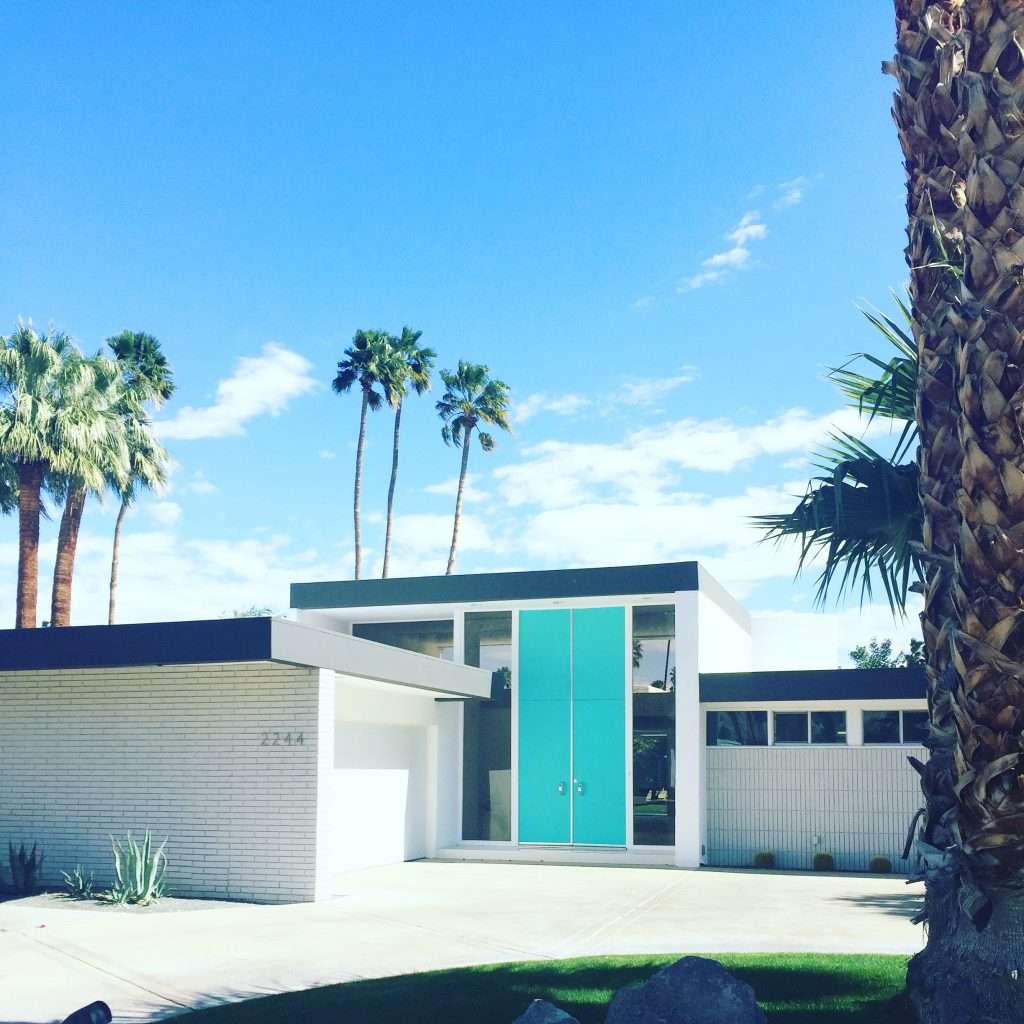 Architecture moderne - Palm Springs